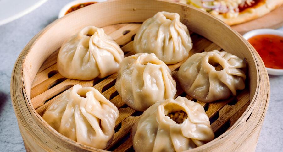 Ķīniešu pelmeņi Baoczi